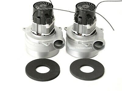 Carpet Cleaning 3-Stage Extractor Vacuum Motor 5.7 W/Gaskets