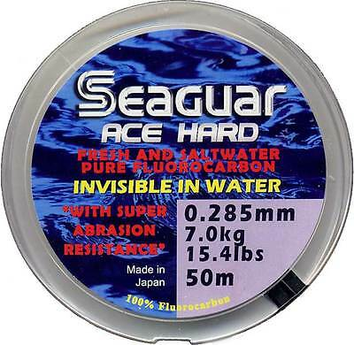 Seaguar Ace Hard Fluorocarbon - Leader Tippet Material  - NEW STOCK 2018