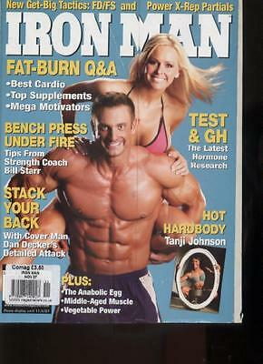 IRONMAN MAGAZINE - November 2007