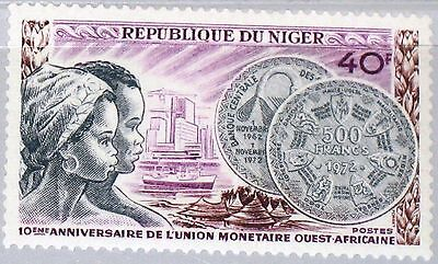 NIGER 1972 347 258 West African Monetary Union Geld Money Coin Münze Currency **