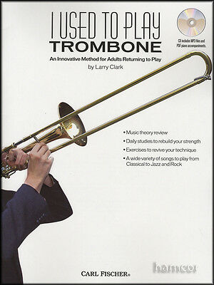I Used to Play Trombone Learn How to Play Beginner Method Music Book/CD