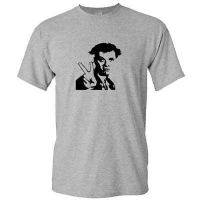 Young Ones Tshirt - PEACE Tribute To Rik Mayall Mens British Cult TV Series