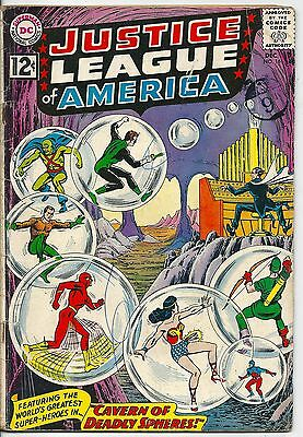 Justice League of America 16 DC Silver Age 1962 Cavern of Deadly Spheres