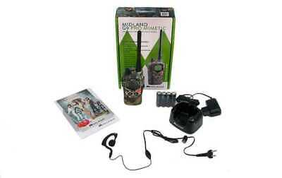 Talkie Walkie Midland G9 Plus Camouflage 30 Km Chargeur + Micro Casque  Mimetic