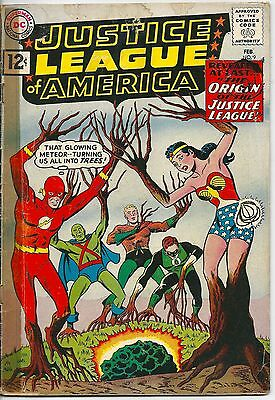 Justice League of America 9 DC Silver Age 1961 Origin of The Justice League