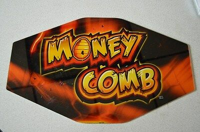 "Casino Slot Machine Topper Insert ""money Comb"""