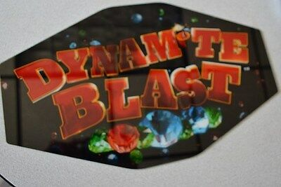 "Casino Slot Machine Topper Insert ""dynamite Blast"""