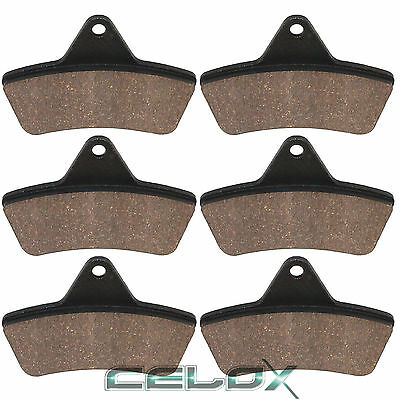 Front Rear Brake Pads For Arctic Cat 300 4X4 1998-2004 / 375 Auto 2001 2010