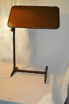Antique Cast iron Serving Drafting TABLE  M. Wocher & Son