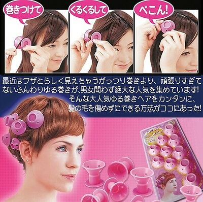 CB118 Ultra-Soft Soft Hair Care Peco Roll 10 PCS Hair Rollers Curler DIY Tools