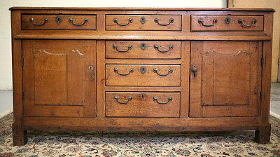 18th Century Italian Sideboard, Cabinet with drawers,  original hardware