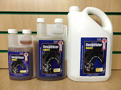 NAF 5* Respirator Liquid Boost Horse Pony Feed Supplement; Breathing, Lung, Wind