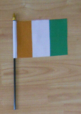Ivory Coast Country Hand Flag - small