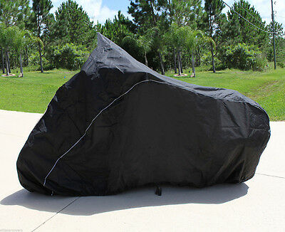 XXL 180T Blue/&Black Motorcycle Cover For Harley Davidson Softail Standard FXST