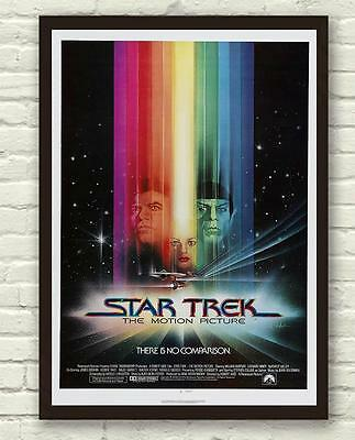 Star Trek The Motion Picture Movie Film Poster Print Picture A3 A4