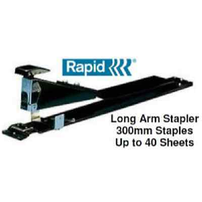 Stapler Rapid HD 12/12 Long Arm Up To 40 Sheet Capacity (WEIGHT:  2 1/2 POUNDS)
