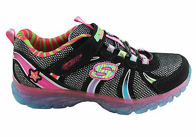skechers kids girls light up shoes sneakers casual sports on ebay. Black Bedroom Furniture Sets. Home Design Ideas
