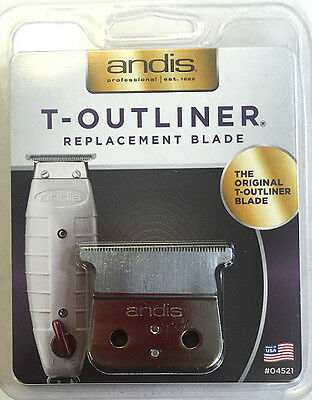 Andis T-Outliner Blade / Gtx Trimmers Blade  **new Packaging - Blade Only**