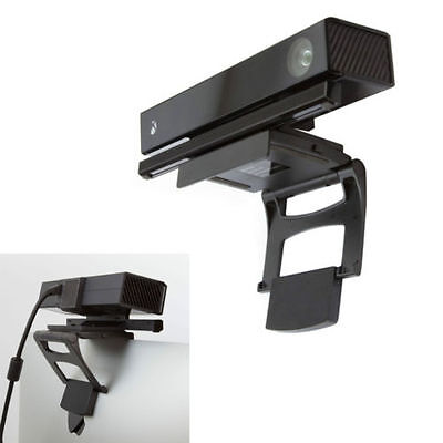 Black TV Clip Mount for Kinect 2.0 Sensor (Microsoft Xbox One) Motion Gaming UK