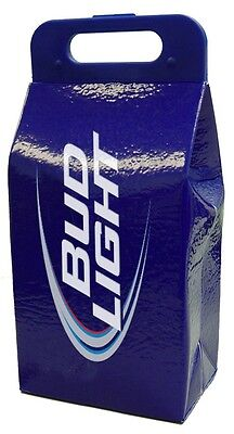 Bud light Koolit collapsible coolers Bag lifoam drink blue beer picnic