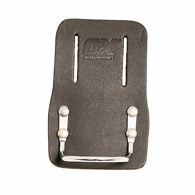 OX Tools Professional Tool Belt Leather Hammer Holder - Fixed Type