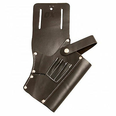 OX Tools Professional Leather Cordless Drill Pouch For Tool Belt