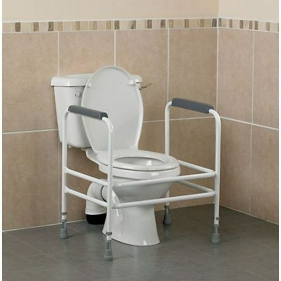 Bariatric Adjustable Toilet Surround / Frame Mobility Equipment Extra Support