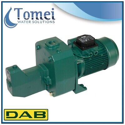 Self-Priming Electro Water Pump in Cast-Iron JET 151 M 1,1KW 1,5HP 240V DAB