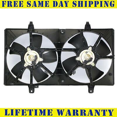 Radiator Condenser Cooling Fan For Nissan Fit Maxima