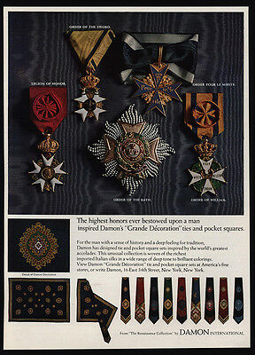 1967 Legion Of Honor- Order Pour Le Merite - Order Of The Bath Medals - DAMON AD