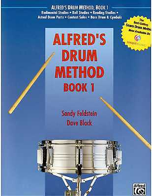 Alfred's Drum Method Bk 1 ! Time Tested Snare Drum Book !