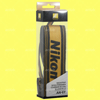 Genuine Nikon AN-6Y Nylon Neck Strap Camera Neckstrap AN6Y made in Japan
