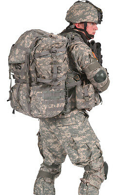 ACU Digital Camouflage Military Tactical MOLLE Large Field Rucksack