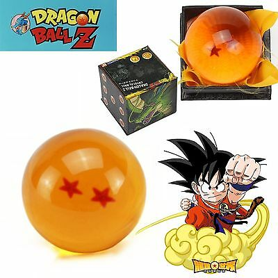 1Pcs NEW JP Anime DragonBall 2 Stars Crystal Ball in Box Package Collection Gift