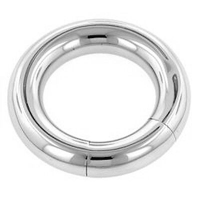 SMOOTH SEAMLESS SURGICAL STEEL 316L SEGMENT RING  GAUGE 1.2mm - 6mm