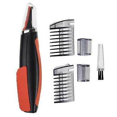 2 in 1 Hair Trimmer As Seen on TV MicroTouch Switchblade Shaver Grooming Orange