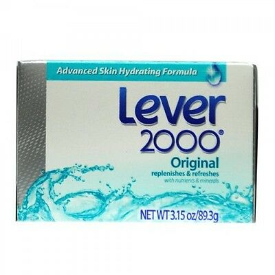 Lever 2000 Original Hydrating Soap Bars 3.15 oz - 12 Pack Made in USA