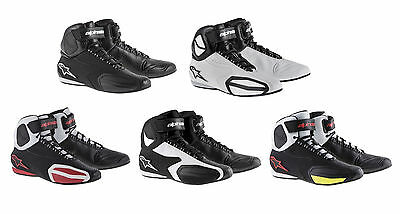 2017 Alpinestars Faster Street Riding Motorcycle Shoes