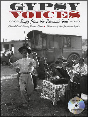 Gypsy Voices Songs from the Romani Soul Vocal Music Book/CD Songbook
