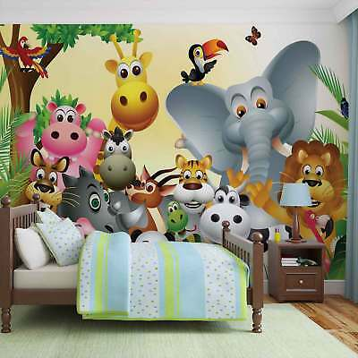 WALL MURAL PHOTO WALLPAPER PICTURE (693VE) Jungle Boys Girls Bedroom