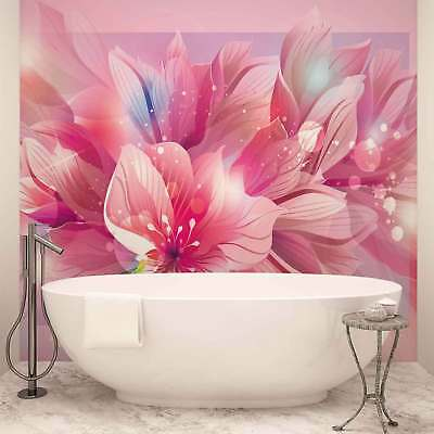 WALL MURAL PHOTO WALLPAPER PICTURE (763VE) Flowers Floral Art Abstract