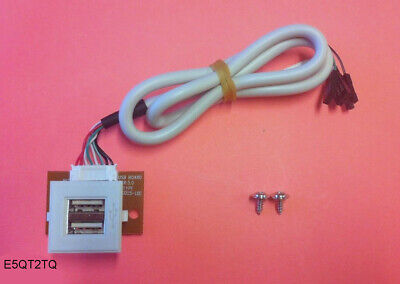 Mic//Speaker Jack PCB Assembly Cable NEW PC Tower Case Front Panel 2x USB Port