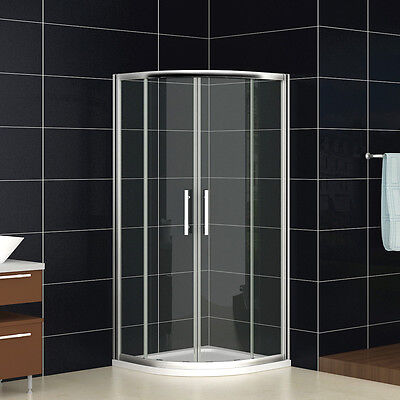 1000x1000mm Quadrant Shower Enclosure Tall Corner Cubicle 8mm NANO Glass Door