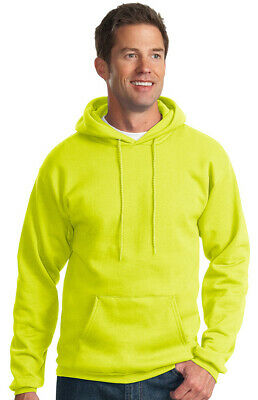 Port & Company Men's Big & Tall Long Sleeve Winter Hooded Sweatshirt. PC90HT