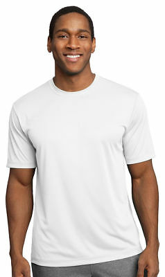 Sport-Tek Dry Zone Men's LT-4XLT Tall Moisture Wick Performance T-Shirt. TST350