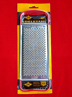 Vintage 70's New Old Stock Stainless Steel Flat Cheese Grater, Fisko Germany NR2