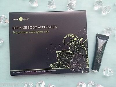 IT WORKS 4 Body Wraps Ultimate Applicators + Mini Defining Gel WRAP PACK ~New~
