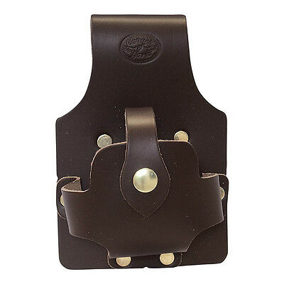 Deluxe Leather Large Tape Holder For Scaffolders - Connell of Sheffield
