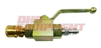 Pressure Washer Ball Valve - For Switching Between Wand & Flat Surface Cleaner