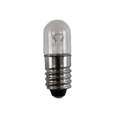 10-Pack Miniature Lamp Light Bulb 120MS 120V E10 Mini Screw .025Amps T3.25 11172